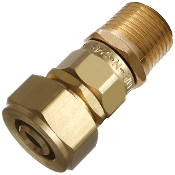 KITEK ADAPTER/Coupling:  1/2 PEX-AL-PEX Comp x 1/2 Dual (C or M)