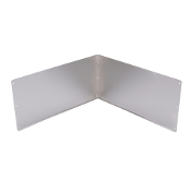 Duraguard SS Wall Plates (2) 24x12 for 63m Basin