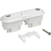 Caroma Dual Flush Button Kit - WHITE